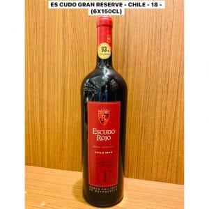 Escudo Rojo 150cl