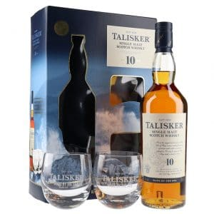 Talisker 10 Year Old 2 Glass Pack