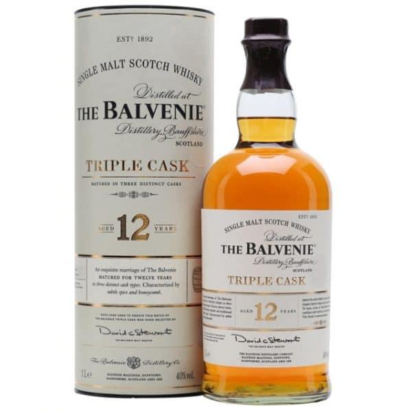 The Balvenie 12 Year Old Triple Cask