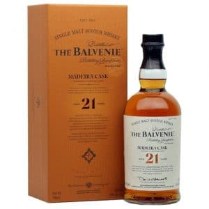 The balvenie Madeira cask 21 year