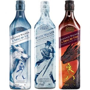 Johnnie Walker White Walker Game Of Thrones Limited Edition