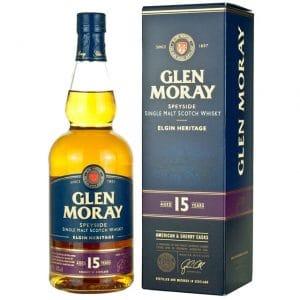 Glen Moray Fired Oak 15 Year Old