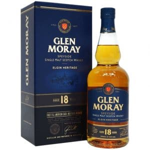Glen Moray FireGlen Moray 18 Year Old Elgin Heritaged Oak 18 Year Old