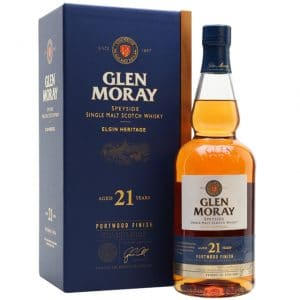 Glen Moray Fired Oak 21 Year Old