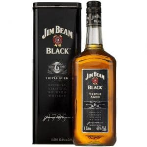 Jim Beam black 6 triple aged