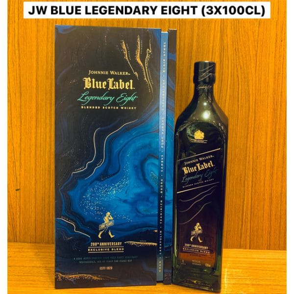Johnnie Walker Blue Label Legendary Eight 200th Anniversary (Limited Edition) 1L
