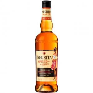 Negrita spiced golden rum