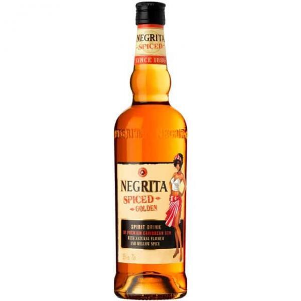 Negrita spiced golden rum