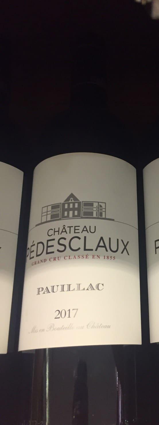 Chateau Pedesclaux 2017