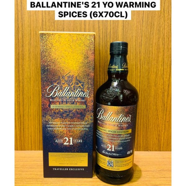Ballantine's Warming Spices 21 Year Old 70cl 1L