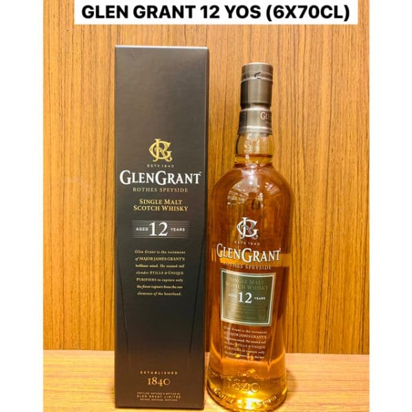 Glen Grant 12 Year Old 70cl