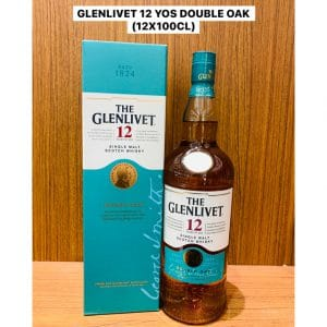 Glenlivet 12 Year Old Double Oak 1L