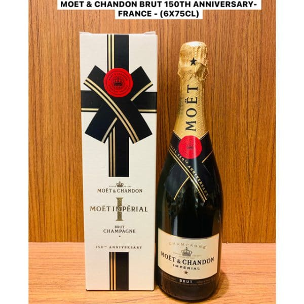 Moët & Chandon 150th Anniversary Limited Edition 75cl