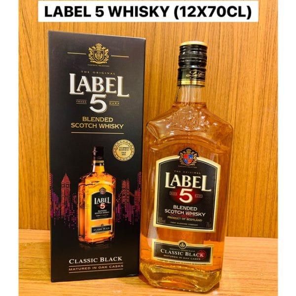 Label 5 Classic Black 70cl