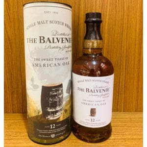 Balvenie 12 Year Old Sweet Toast Of American Oak 70cl